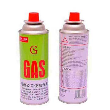 Cylinder for camping stove straight wall 211*162mm butane Gas Canister cartridge 220g