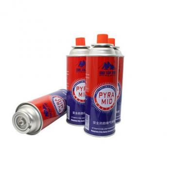 China propane butane gas cartridge 220g butane gas can spray
