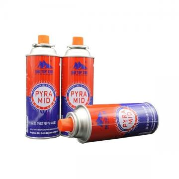 Butane Gas Canister Aerosol Mounting Cup Gas Stove Valves With Actuators  gas cylinder 190 gr