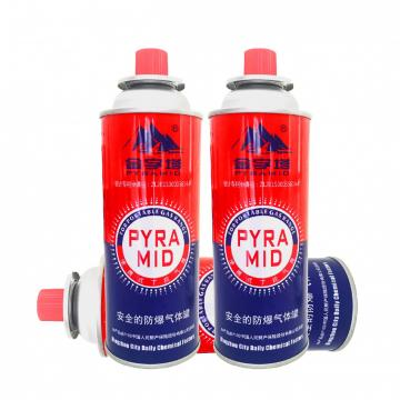 400ml 227g portable camping portable gas stove valve used for tin cans/butane can and valve