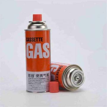 Round Shape Portable gas canister add stove use for camping butane gas