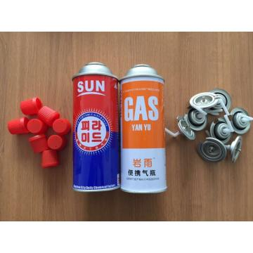 Fuel Energy Empty Tinplate Safety Powerful Butane Gas Canister 220G gas cylinder 190 gr